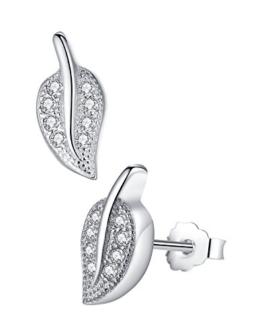 Wunderbare Blatt Ohrringe | Die schönsten Blatt Ohrringe