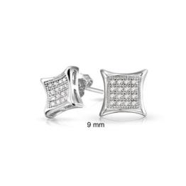 Bling Jewelry Männer Sterling-Silber Drachen Mikro Pavé CZ Ohrstecker