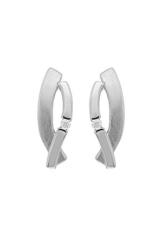 CHRIST Silver Diamonds Damen-Ohrstecker 925er Silber ca. 0,03 ct. One Size, silber