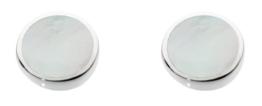 Dew Damen-Ohrringe 925 Silber Muschel Weiß – 3060MP
