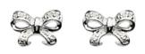 Dew Ohrstecker Sterling-Silber 925 Zirkonia Schleife 3422CZ