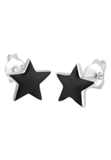 Elli Damen-Ohrstecker Sterne 925 Sterling Silber