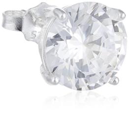 Herren-Ohrstecker Sterling-Silber 925 Zirkonia TMR/8