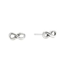 """Silverly Frauen 925 Sterling Silber Infinity Symbol """"8"""" Einzigartige Ohrstecker"""