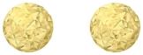 Carissima Gold Damen-Ohrstecker 9ct gelb Diamond Cut 3mm Ball Stud 375 Gelbgold-1.55.7989 -