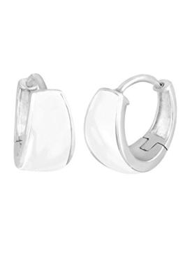 Elli Damen-Creolen Basic 925 Sterling Silber 309381212 -