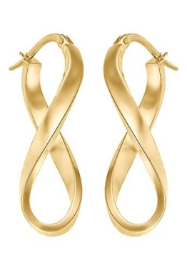CHRIST Gold Damen-Creole 333er Gelbgold One Size, gold -