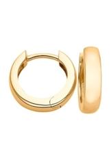 CHRIST Gold Damen-Creole 333er Gelbgold One Size, gold -