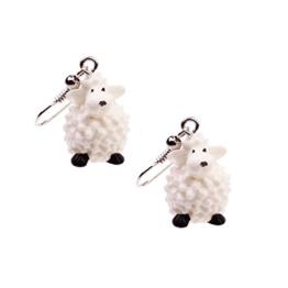 Snykk Schaf-Ohrringe - 2 Stück - Schäfchen -