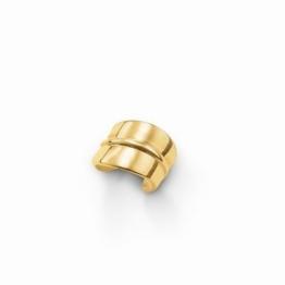 Thomas Sabo EC0003-413-12 Ohrklemme Ohrschmuck Silber vergoldet Gelbgold 9 mm -