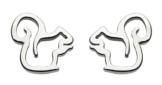 Dew Damen-Ohrringe 925 Silber - 4042HP -