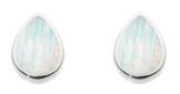 Dew Damen-Ohrstecker Silber Opal mehrfarbig 3061MSO -
